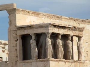 Temple of Erechtheion, Porch of the Kariatids