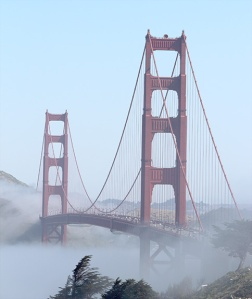Golden Gate Bridge - Dipped in Fog