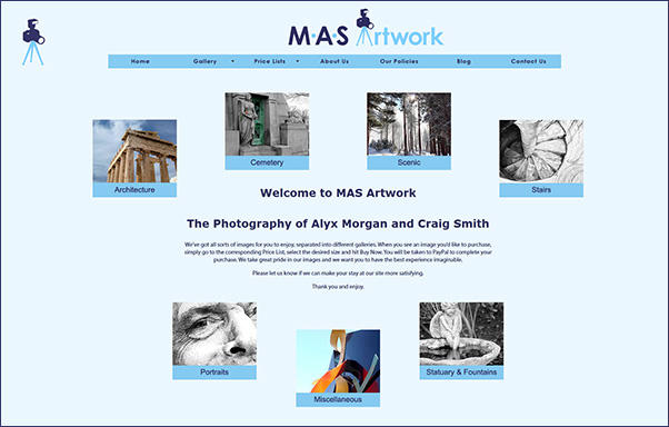 The New MAS Artwork Website
