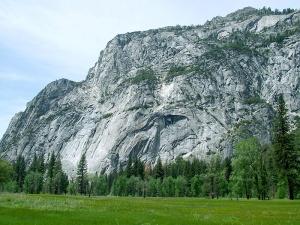Yosemite Valley - Mountainous Granite