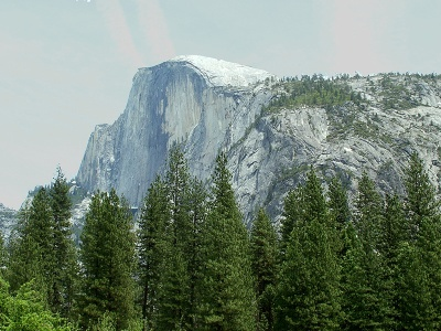 Yosemite - Half Dome from the Valley Floor