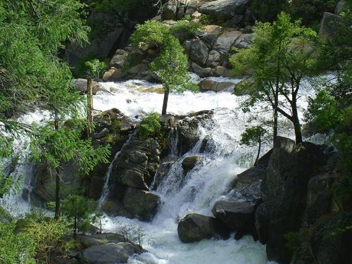 Yosemite Valley Slope Mini-Falls