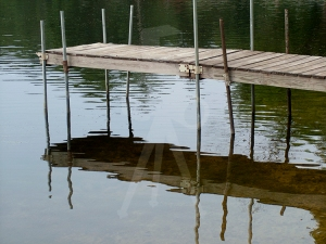Dock on Crooked Lake