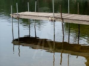 Dock on Crooked Lake