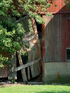 Broken Barn Door