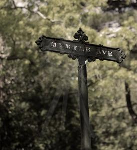 Myrtle Ave Marker - Salem