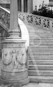 Athens_Library_Steps_4_BW