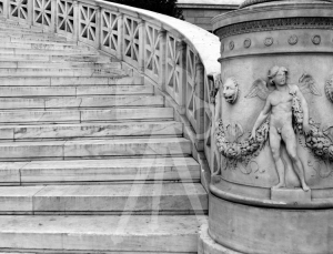 Athens_Library_Steps_6_BW