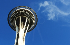 Seattle-SpaceNeedleandCloud